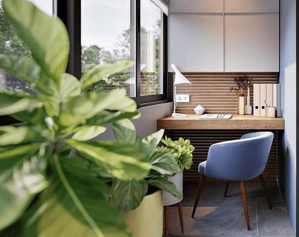 balkon-moderen-untuk-ruang-kerja