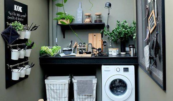 dekorasi ruang cuci keren