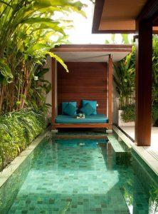 15 desain kolam renang keren untuk rumah kecil! - sisiruang