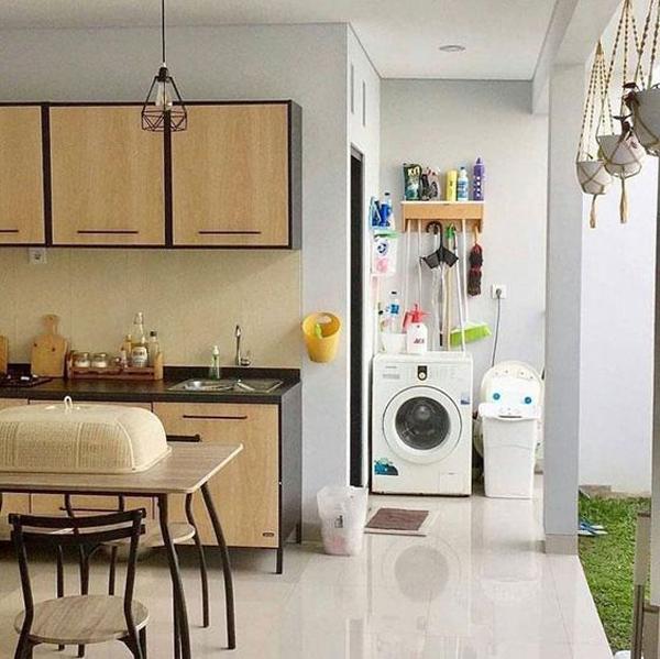ruang cuci terbuka