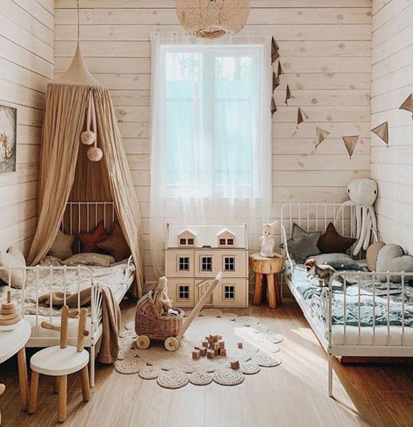 dekorasi-kamar-tidur-bersama-bergaya-bohemia