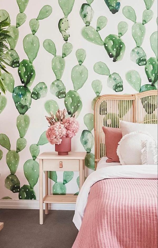 ide-wallpaper-dinding-dengan-motif-kaktus