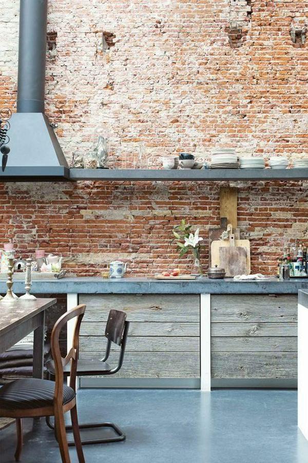 dapur-bergaya-industri-dengan-dinding-bata