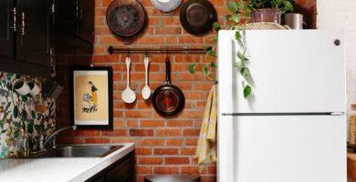 desain-dinding-bata-trendi-untuk-dapur-kecil