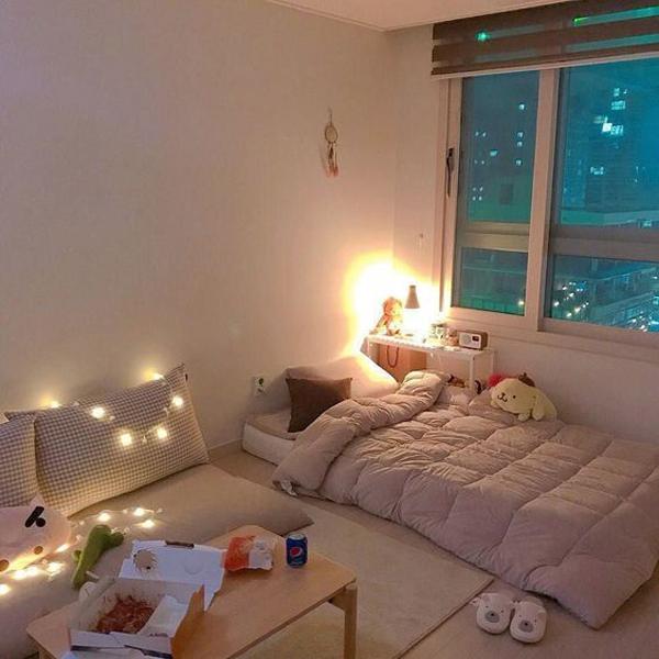 hiasan-lampu-kamar-tidur-korea