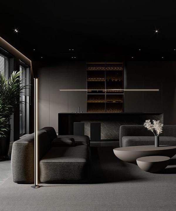 interior-gelap-dengan-warna-hitam