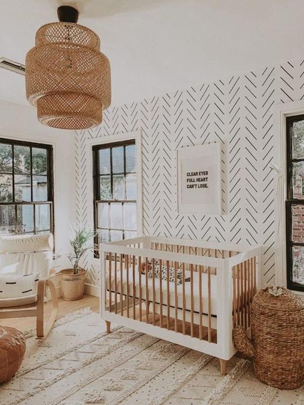kamar-tidur-bayi-moderen-dengan-perabot-rotan