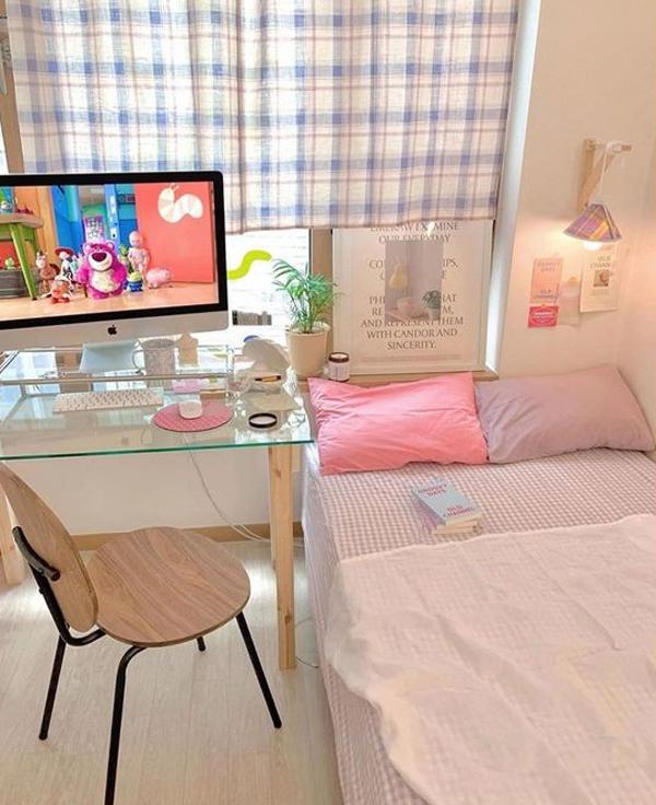 kamar-tidur-korea-bernuansa-pastel