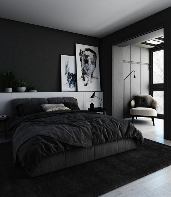kamr-tidur-warna-hitam-untuk-pria