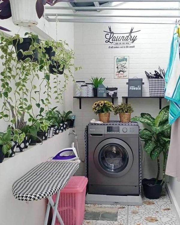 ruang-cuci-minimalis-dengan-tanaman-hias