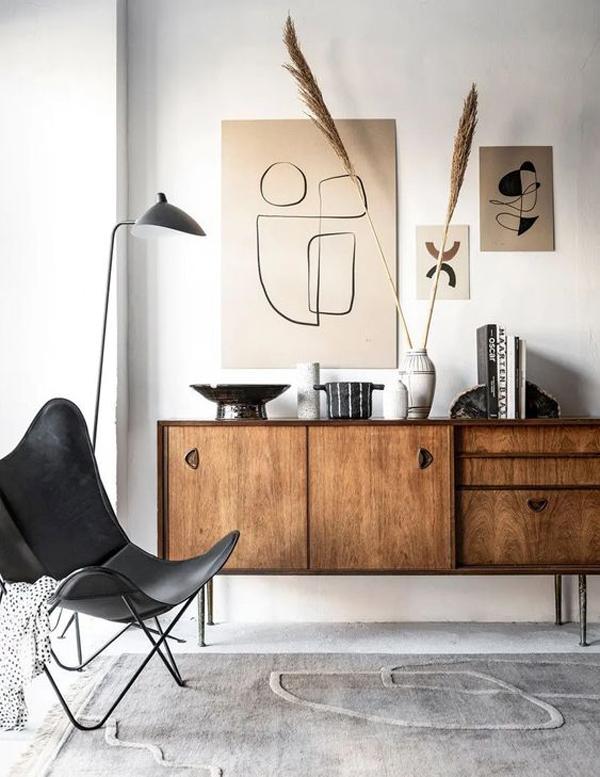 gaya-ruang-tamu-japandi-minimalis