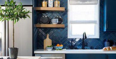 dapur-biru-dengan-tampilan-klasik-yang-keren
