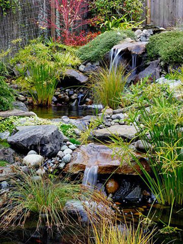 dekorasi-taman-kecil-dengan-sungai-buatan