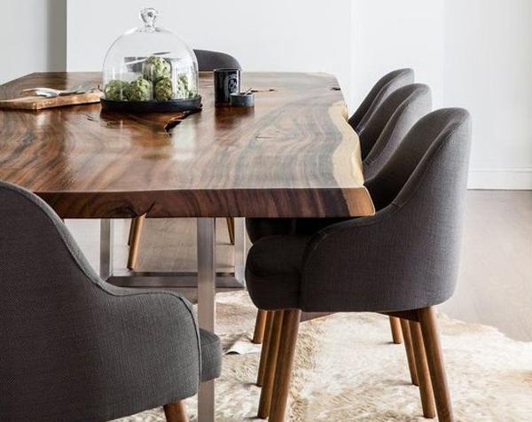 desain-ruang-makan-nuansa-kayu