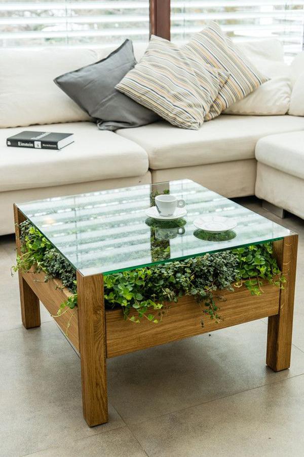 meja-kopi-dengan-rumput-alami-untuk-ruang-tamu