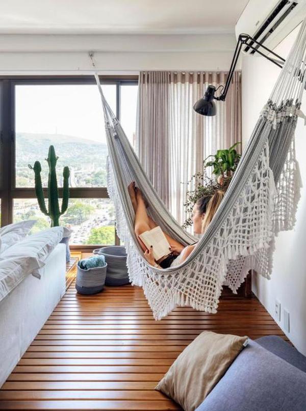 desain-kamar-tidur-terbuka-dengan-hammock