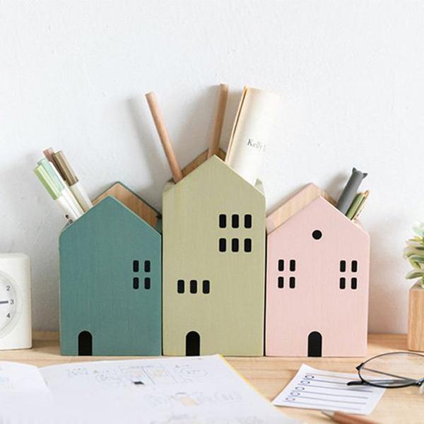 desain-tempat-pensil-berbentuk-rumah-yang-unik