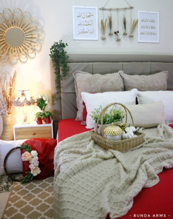 kamar-tidur-cantik-bernuansa-merah-putih