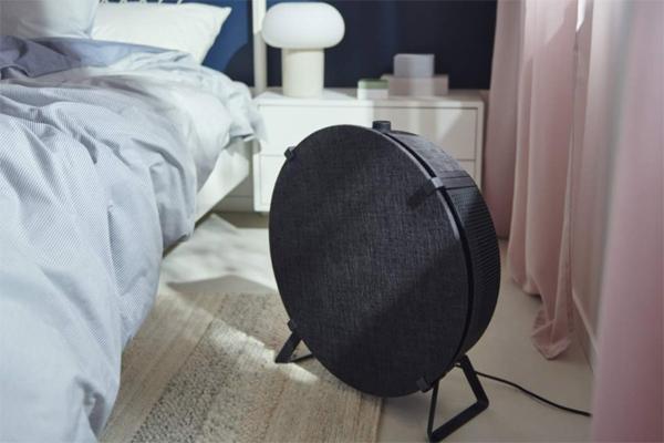 IKEA-STARKVIND-air-purifier-hitam-model-berdiri