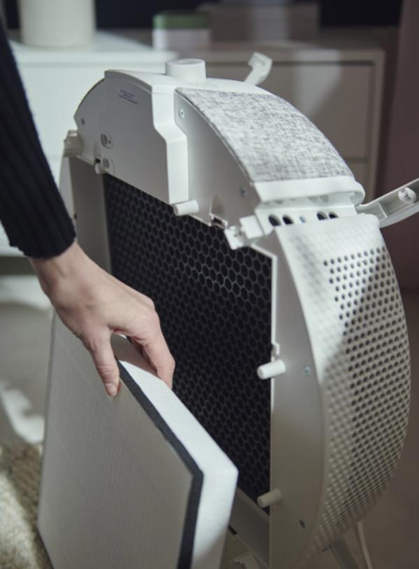 IKEA-air-purifier-dengan-penyaring-udara-pintar