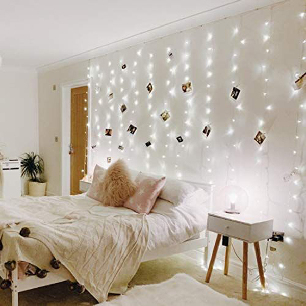 dekorasi-dinding-rantai-lampu-untuk-kamar-tidur