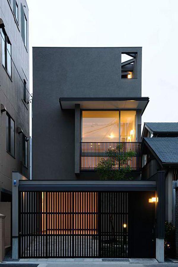 desain-pagar-rumah-modern-dengan-warna-hitam