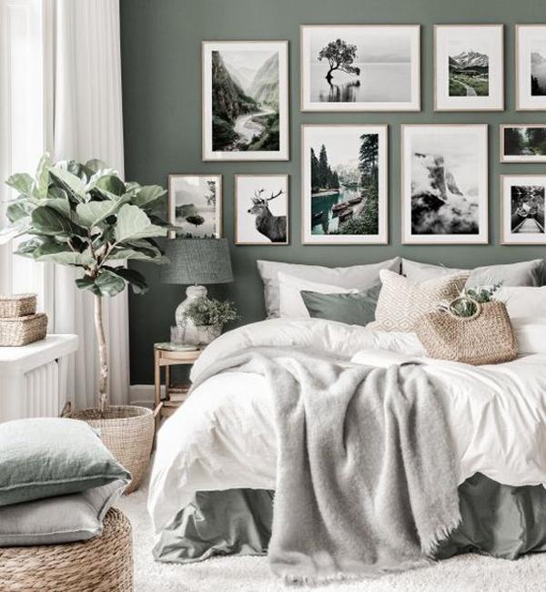 ide-dekorasi-galeri-dinding-di-kamar-tidur