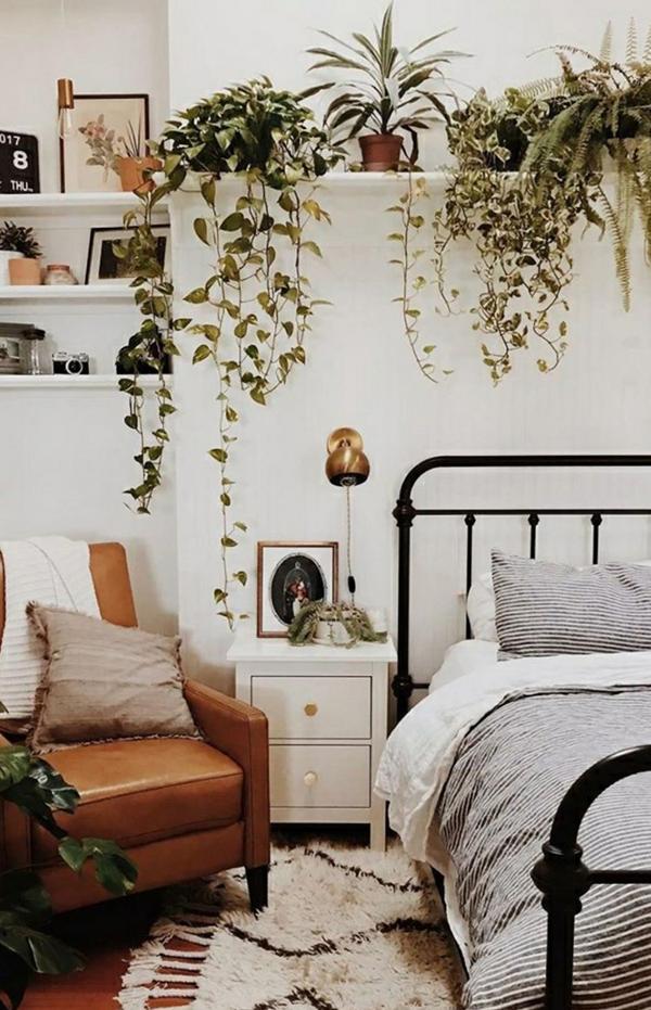 ide-dinding-tanaman-kamar-tidur