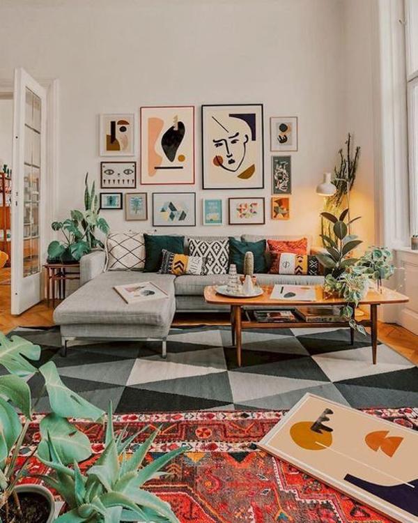 ruang-keluarga-keren-dan-nyaman-dengan-karpet-lantai