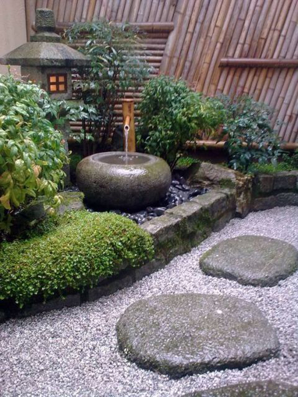 desain-taman-jepang-kecil-dengan-pancuran-bambu