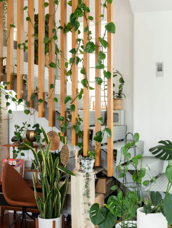 desain-taman-tangga-dengan-tanaman-merambat