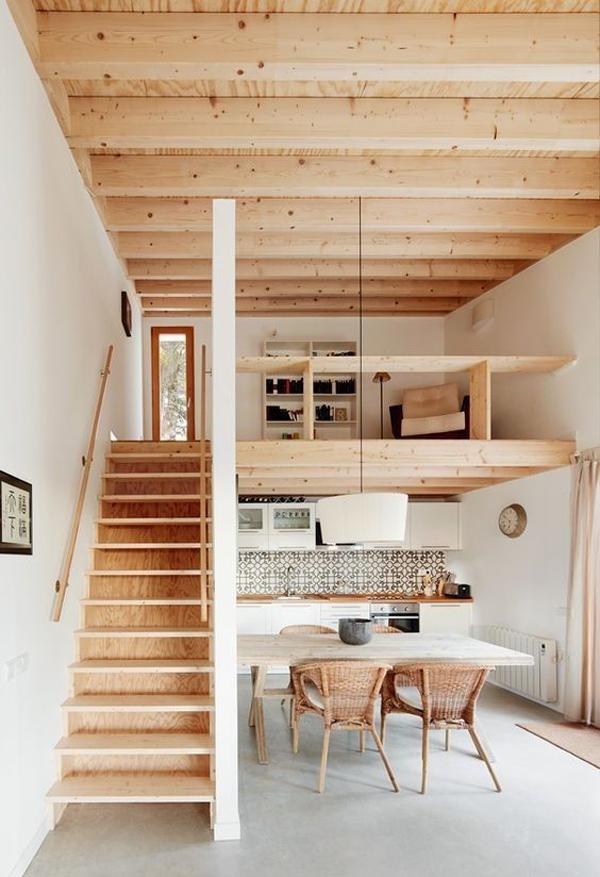 desain-tangga-kayu-untuk-lantai-mezzanine
