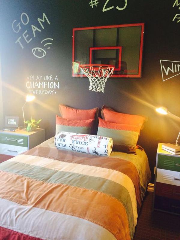 kamar-tidur-bertema-basket