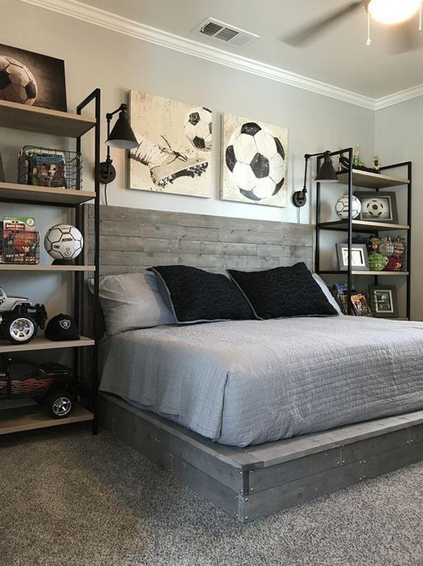 kamar-tidur-cowok-keren-tema-sepak-bola