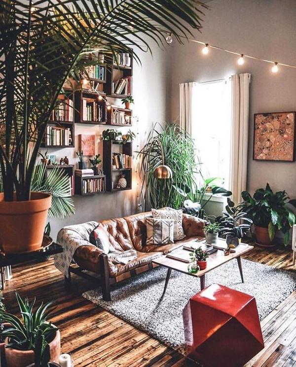ruang-tamu-bergaya-romantis-dengan-tanaman-hias